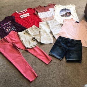 Girls bundle clothing